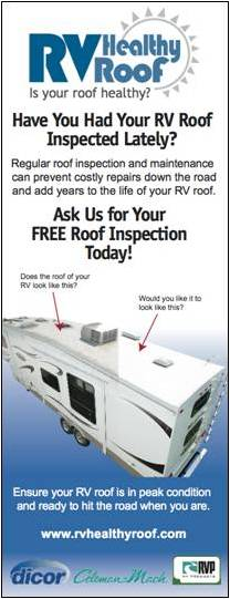 free rv roof inspection